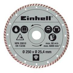 Productimage Stone Cutting Machine Accessor Dia. cutting disc 250x25,4 tur