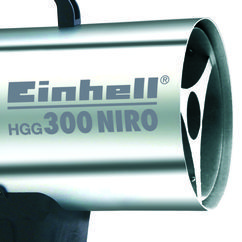 Hot Air Generator HGG 300 Niro Detailbild 2
