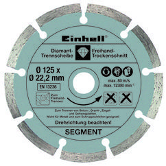 Angle Grinder TE-AG 125/750 Kit Detailbild 1