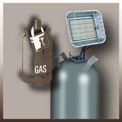 Gas Heater GS 4600 P (DE/AT) Detailbild 2