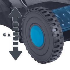Hand Lawn Mower BG-HM 40 Detailbild 2