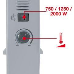 Convector Heater CH 2000/1 Detailbild 1