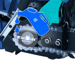Petrol Chain Saw BG-PC 5045 (non EU) Detailbild 5