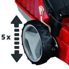 Petrol Lawn Mower RG-PM 51 VS B&S Detailbild 4