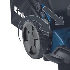 Petrol Lawn Mower BG-PM 46 S HW Detailbild 2