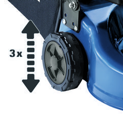Petrol Lawn Mower BG-PM 40 Detailbild 1