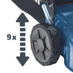 Petrol Lawn Mower BG-PM 46/2 S B&S Detailbild 2