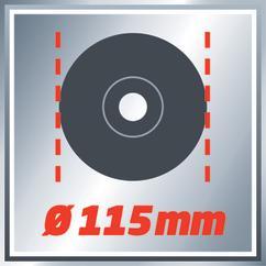Angle Grinder TE-AG 115/600 Detailbild 1