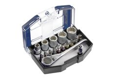 Productimage Screwdriver Bits Bit-Box with Belt Clip 17pcs