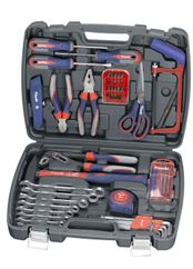 Productimage Handtool Sets assorted Tool Case, 64 pcs.