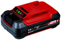 Battery 18V 2,6Ah P-X-C Plus Produktbild 1