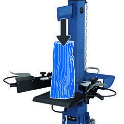 Log Splitter BT-LS 810 DB Detailbild 1
