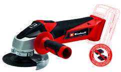 Productimage Cordless Angle Grinder TC-AG 18/115 Li-Solo