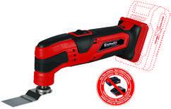 Productimage Cordless Multifunctional Tool TC-MG 18 Li-Solo