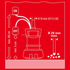 Dirt Water Pump GE-DP 5220 LL ECO Detailbild 3