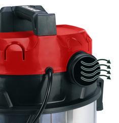 Wet/Dry Vacuum Cleaner (elect) RT-VC 1525 SA Detailbild 1