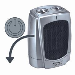 Heating Fan NKH 1800 Detailbild 3