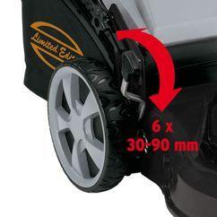 Petrol Lawn Mower EM 2012 Detailbild 4