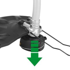 Electric Lawn Trimmer RTX 750 Detailbild 3