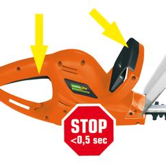 Electric Hedge Trimmer YGL N.G. 551 Detailbild 5