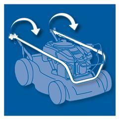 Petrol Lawn Mower BG-PM 46/1 Detailbild 3