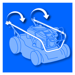 Petrol Lawn Mower BG-PM 40 Detailbild 3