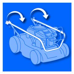 Petrol Lawn Mower BG-PM 40 B&S Detailbild 3