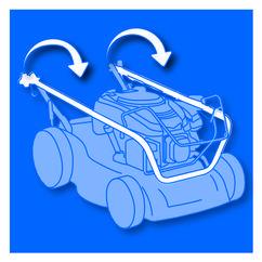 Petrol Lawn Mower BG-PM 46 B&S Detailbild 3