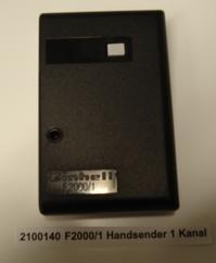 Power Tools Accessory F2000/1 Handsender 1Kanal Produktbild 1