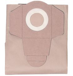 Wet/Dry Vacuum Cleaner Access. Dirt Bag Filter 20l (5 pcs.) Produktbild 1