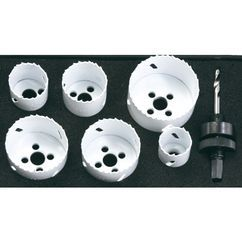 Power Tools Accessory Bi-metal hole saw, 9 pcs Produktbild 1
