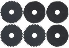 Productimage Mini Circular Saw Accessory HSS saw blade 70mm 6 pcs.
