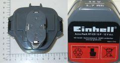 Battery Ersatzakku RT-CD 12 P Produktbild 1
