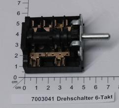 Drehschalter 6-Takt  Produktbild 1