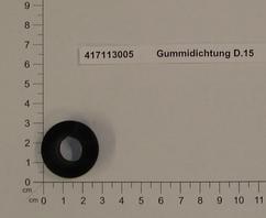Gummidichtung D.15 Produktbild 1