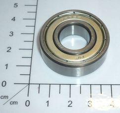 ball bearing 6202 ZZ 15x35x11 Produktbild 1