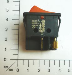 Einbau-Wippenschalter 2 pol. Produktbild 1