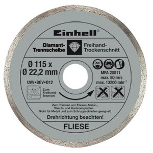 Productimage Angle Grinder Accessory Diamond Cutting Discs 115mm,3p