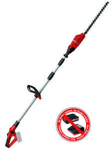 Productimage Cl. Telescopic Hedge Trimmer GE-HH 18 Li T-Solo