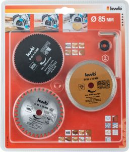 Productimage K-CIRS-530 Mini Circular Saw Set, 5 pcs