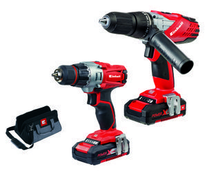 Productimage Cordless Drill Kit 18V Cordless Drill Twin Pack