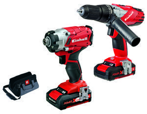 Productimage Cordless Drill Kit 18V Twin Pack