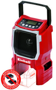 Productimage Cordless Radio TE-CR 18 Li-Solo