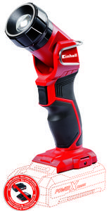 Productimage Cordless Light TE-CL 18 LI H-Solo; EX; ARG