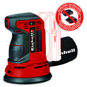 Productimage Cordless Rotating Sander TE-RS 18 Li-Solo