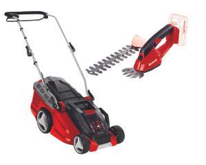 Productimage Cordless Lawn Mower GE-CM 36 Li Set