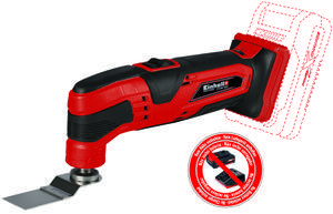 Productimage Cordless Multifunctional Tool TC-MG 18 Li-Solo