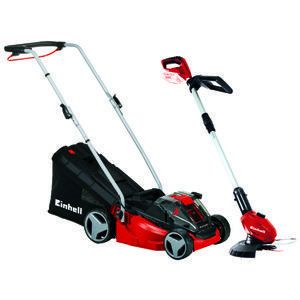 Productimage Cordless Lawn Mower GE-CM 33Li Kit+GE-CT18Li-So;UK