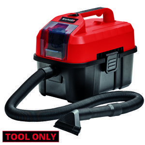 Productimage Cordl. Wet/Dry Vacuum Cleaner TE-VC 18/10 Li-solo, EX; US