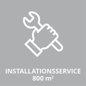Productimage O-SERVICE Installationsservice-800qm; DE